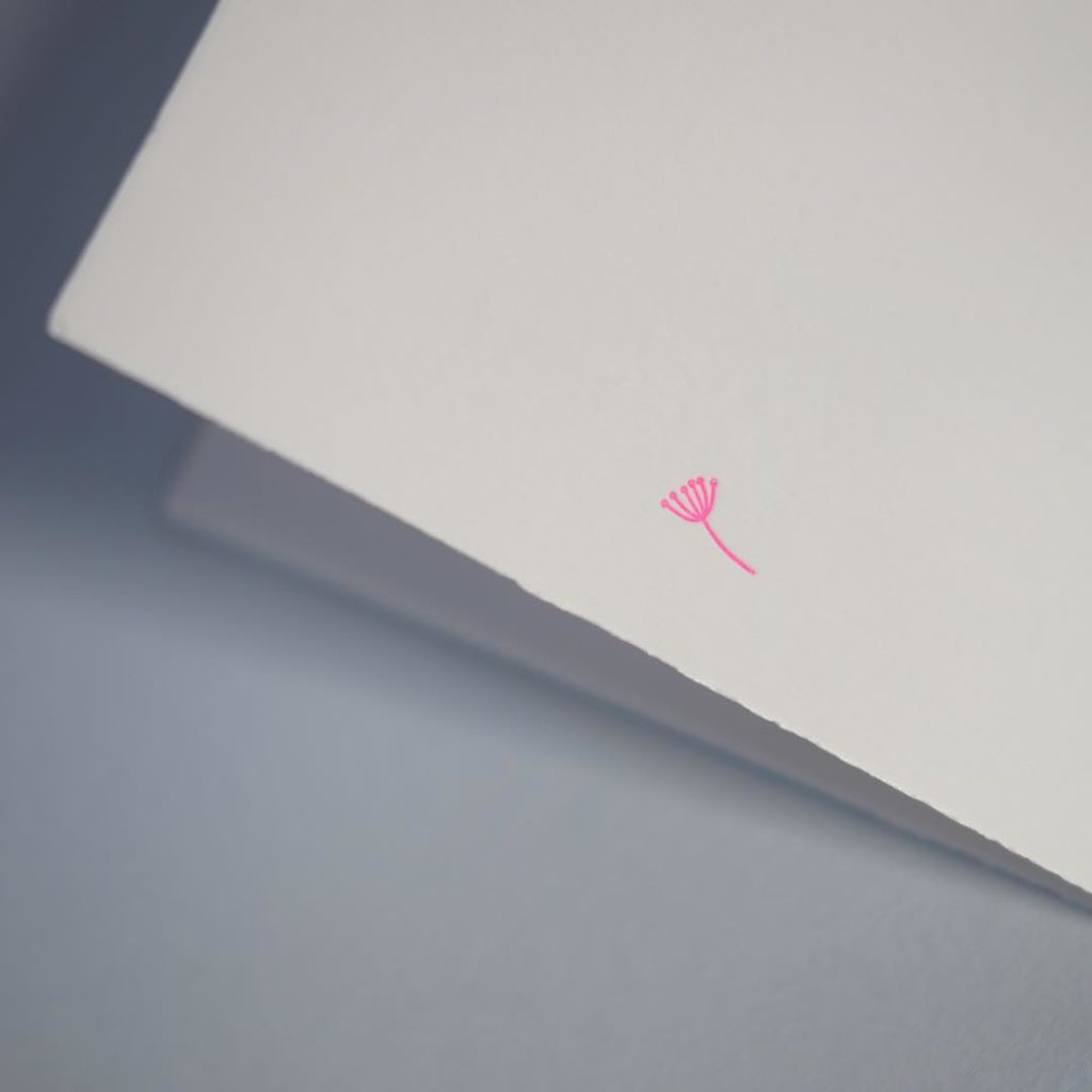 Its all about the tiny details babygirl letterpress neon neonpinkhellip