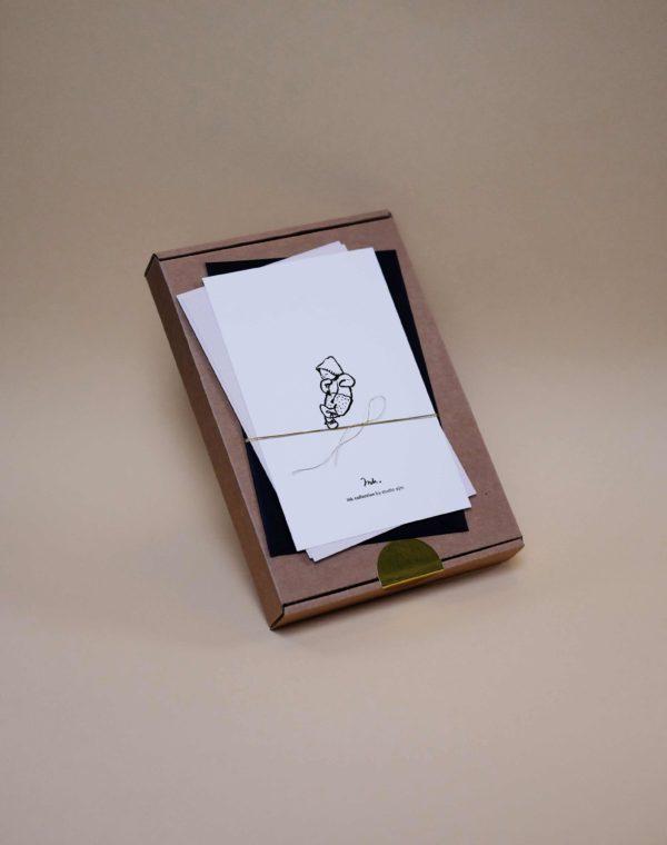 box proefkaartje ink collection geboortekaartjes